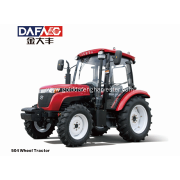 Rear wheel tread tractor